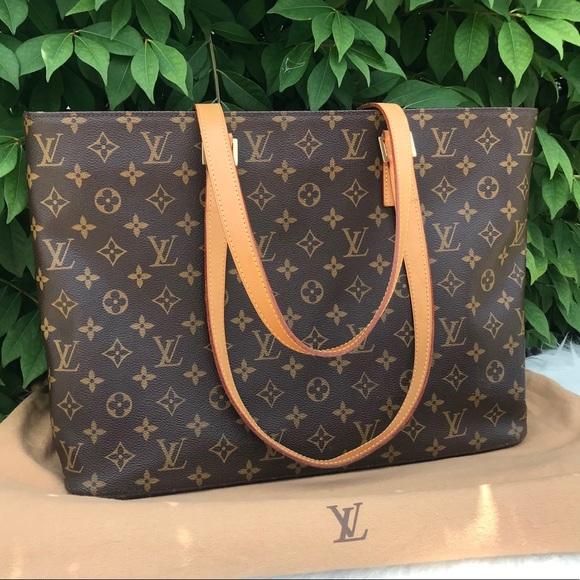 Louis Vuitton Handbags - Louis Vuitton Luco Monogram Canvas Tote Bag